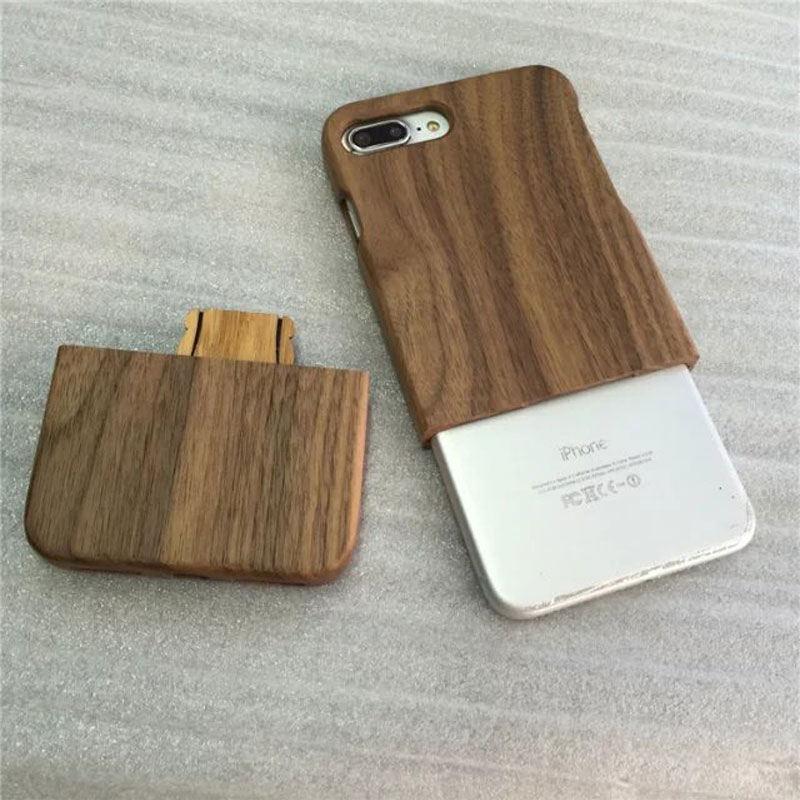 best quality unfinished wood case for iphone7