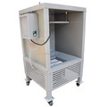 used portable spray paint booth for sale