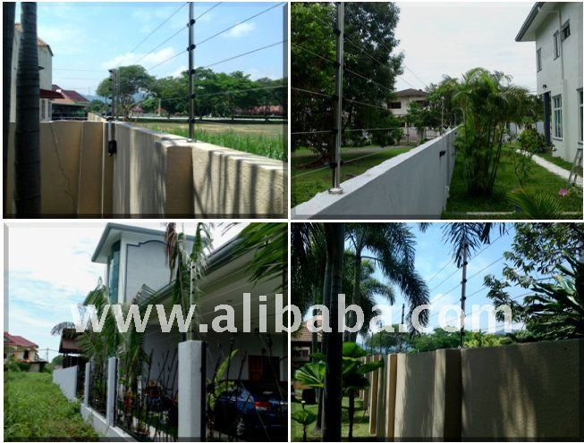 Residential Electrical Fencing System Installation Malaysia