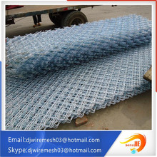 railway protecting pvc coated Meg fence netting /beautiful grid wire mesh fence