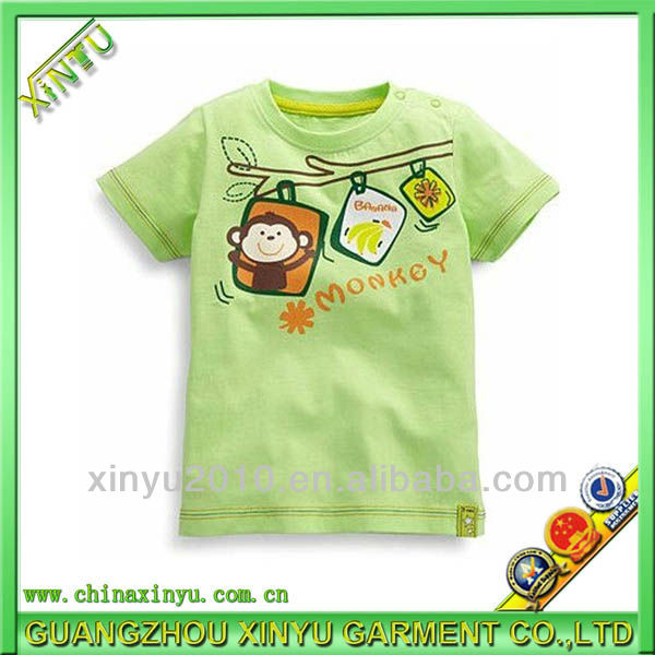 High-end fashion baby boy shirts garment buyer in usa