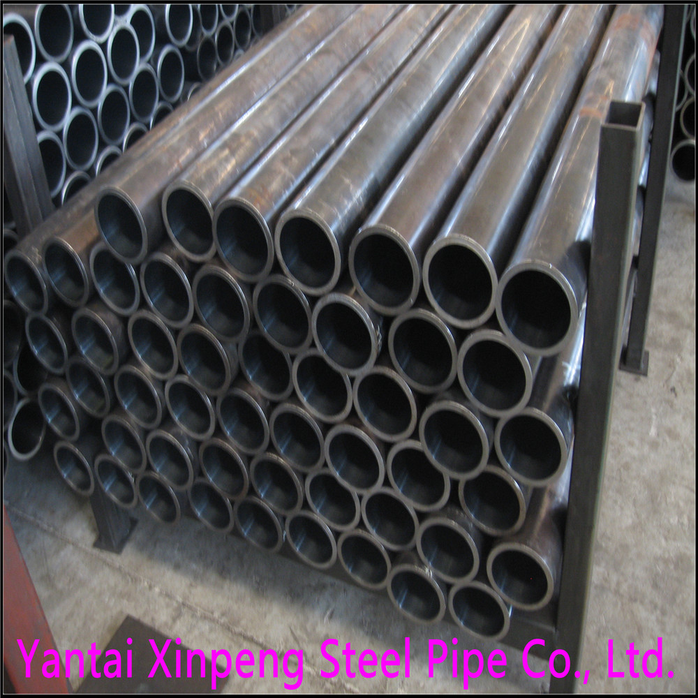 cold drawn ST52 DIN2391 exhausing using seamless steel tube