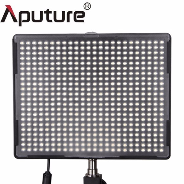 Aputure H528c/w/s 3 or 4 combination LED photo video light kit with bag
