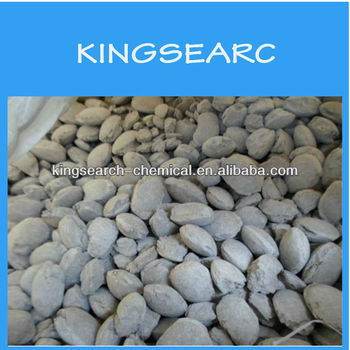 CaF2-75% Fluorspar Briquette Mineral Fluorite For Chemical Industry