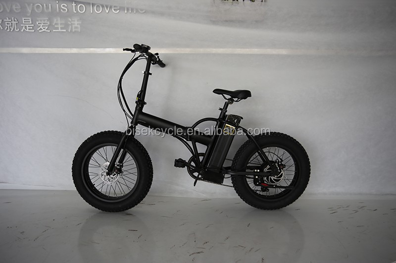 hot sale 20 inch folding electric bike for sand and snow roads