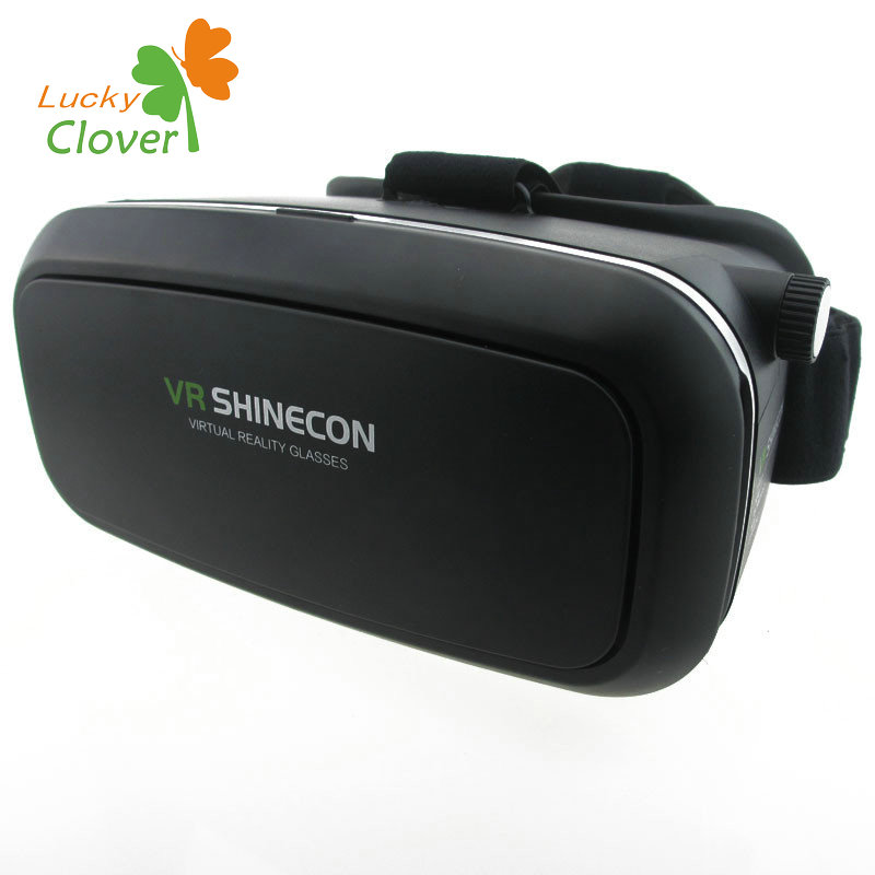 Luckclver vr shinecon 3d glasses for pc games/movies/xbox one for phone 2 year warranty