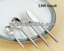 2300S round handle stainless steel forged children cutlery set