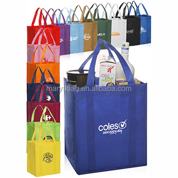Cheap Wholesale Bulk Reusable Non-Woven Grocery Tote Bags