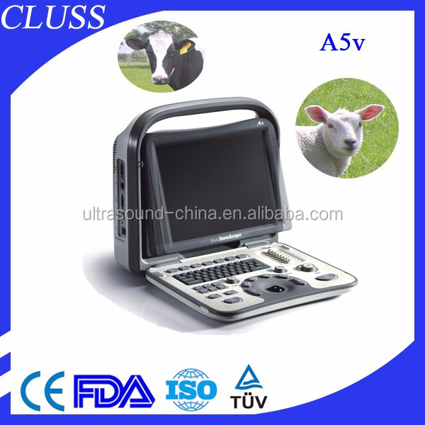 Top Selling!!! Sonoscape A5V Veterinary Portable Ultrasound Machine/Scanner