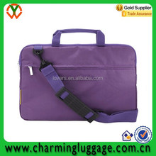 Adjustable shoulder lady laptop bag messenger/computer bag