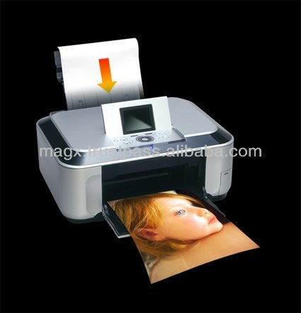 Inkjet magnetic photo paper , standard and custom , made by Japan