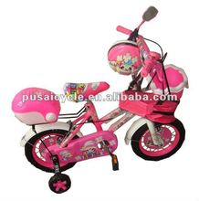 wholesale pink 4 wheel children bicycle for sale