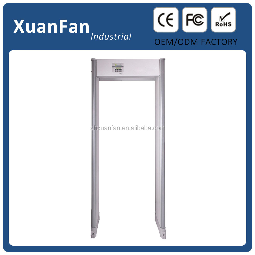 NO.1 33 Zone walkthrough Metal detector door frame metal detector