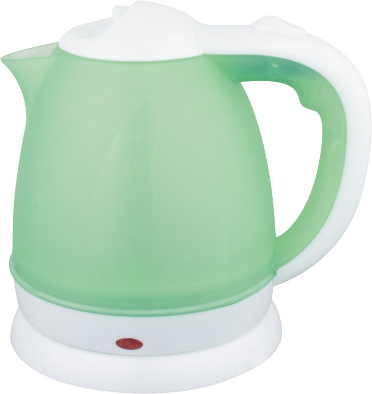 Automatic shut off fashion plastic electeic kettle with 1.5l