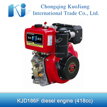 Hot sale 418cc 10hp diesel engine 186F for sale