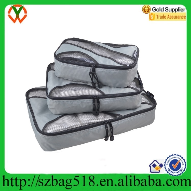 4 Set Travel Luggage Packing Organizers with Laundry Bag