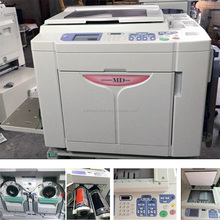 MD5650 two color A3 printer for used Risos color digital duplicator machine