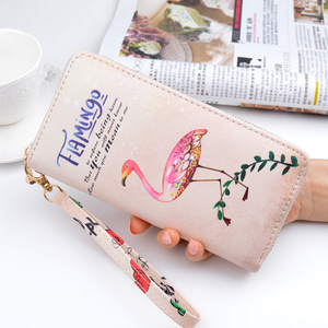 Tianqin Popular Japanese Style Kids Minimalist PU Leather Wrist Band Wallet