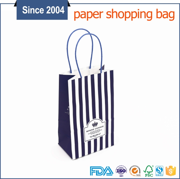 Customized factory price printed shopping china manufacturer multiwall kraft paper bag