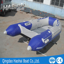 hot sailng inflatable boats with aluminum floor