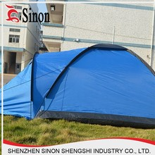 Double camping tent field hiking portable camping four seasons double layer tent