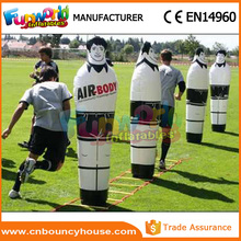 Inflatable football dummy inflatable keeper sport dummy show