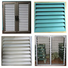 Jalousie windows with built in blinds/electronic roller shutter