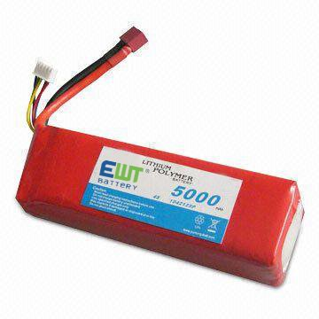 14.8V 5000mAh Li-po Air Soft Gun battery