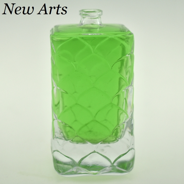 120ml China Manufacturer Square Luxury Perfume Glass Bottle Design