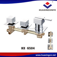 Factory standard wall mount faucet HX-6504 shower copper mixer faucets tap