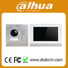 Dahua video intercom 7 Inch IP Kit VTK-VTO2000A-VTH1550CH 2-Door control system