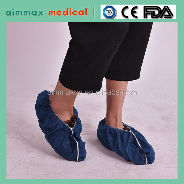 2016 Hospital product disposable Boot Cover/Rain Shoe Cover for Medical use