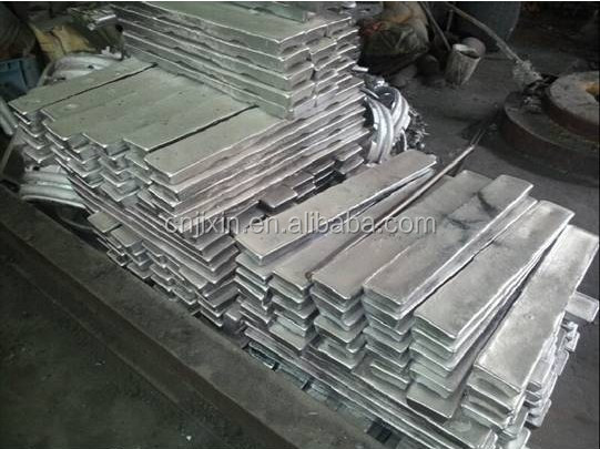 Factory hot sale remelted lead ingot for batteries