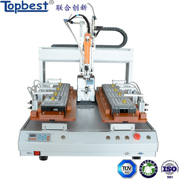 china desktop robotic electric screwdriver with automatic screw feeder