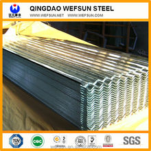 Galvanized Corrugated Sheet 0.2 to 0.8mm