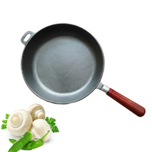 2015 models thick cast iron frying pan pancakes Health uncoated nonstick loss big sale big summer promotion