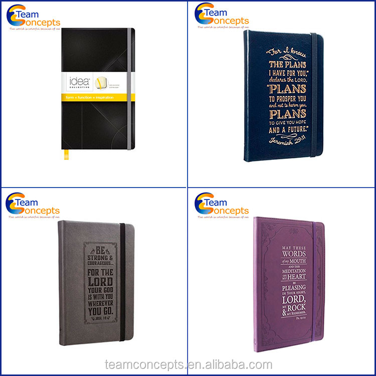 Custom Diary Printing Leather Cover Notebook