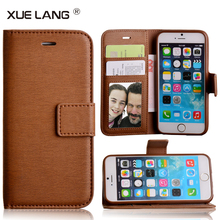 China factory customized OEM mobile cell phone leather wallet case for Iphone 8 X plus in a good price