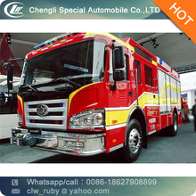 Best Rate Lowest Price 10000L Airport Water Tank Firefighting Fire Truck with High Pressure Fire Fighting Pumper
