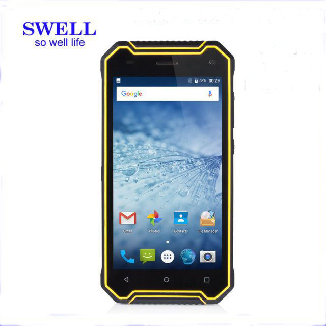 Reviews 2017OEM manufacturer 5inch Rugged Smartphone android 7.0 IP68 NFC all brand