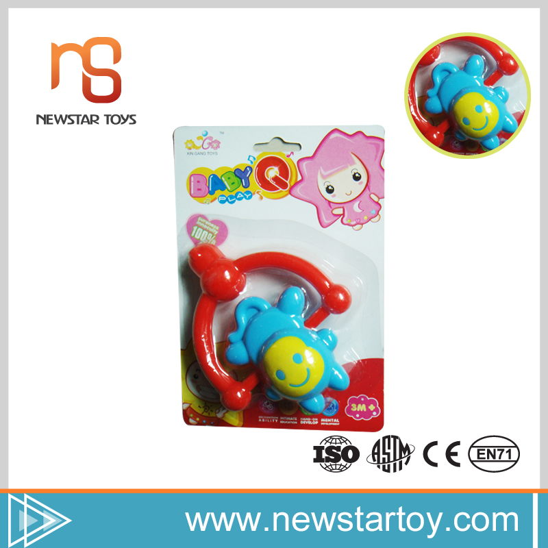 Alibaba famous hot sale funny plastic rings for baby toy with top quality
