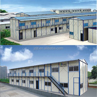 Prefab light steel structure house apartment/High quality Prefabricated House for sale