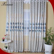 Indian embroidered curtain fabric, lace embroidered curtain fabric, high quality embroidered curtain