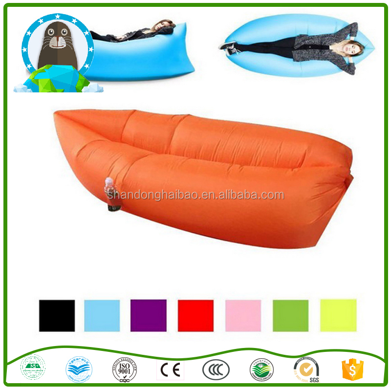 Hot selling inflatable air sleep camping bed, beach air bed inflatable bed sofa,inflatable camping bed