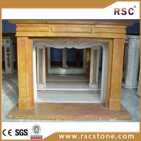 granite stone fireplace price