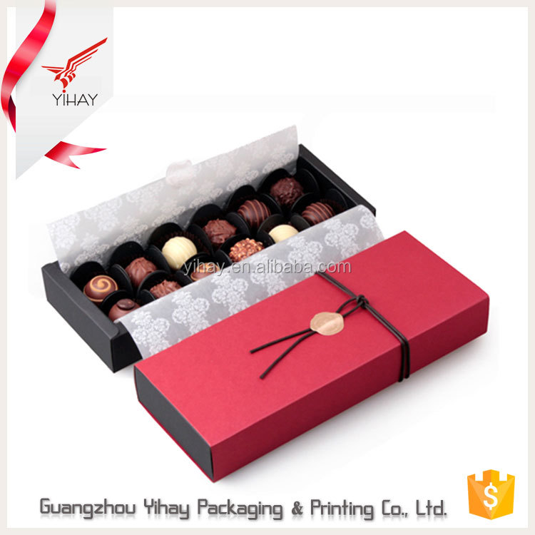 Alibaba China Custom chocolate box packaging fancy dubai chocolate gift packaging box for sweet love