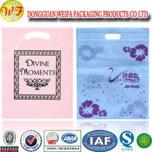Biodegradable Corn Starch Plastic Die Cut Bag Large Plastic Carrier Bag
