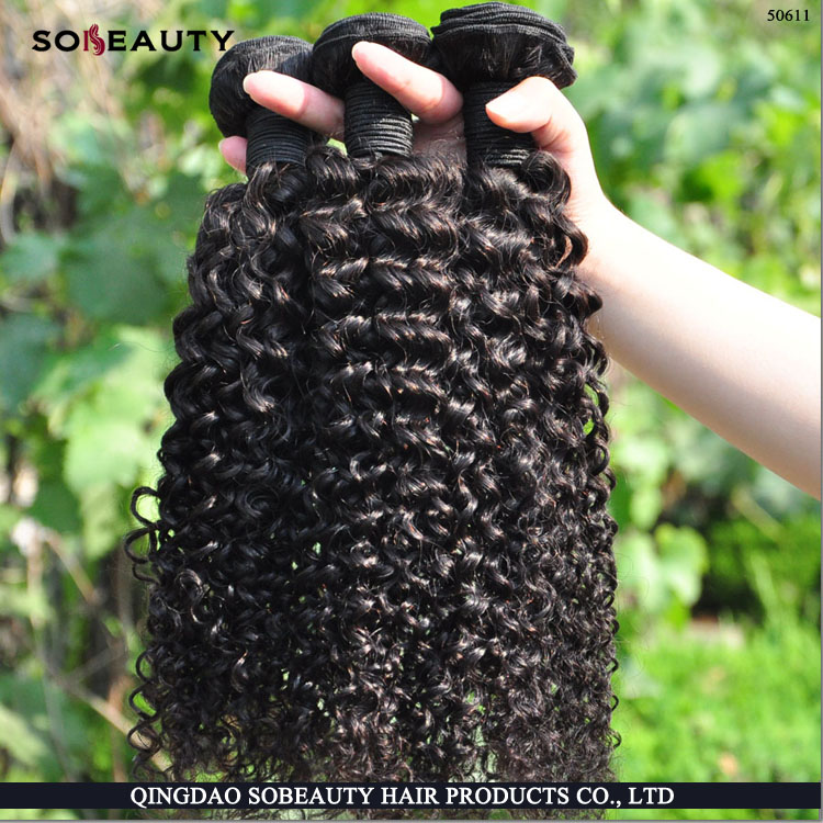 hair pieces for black women indian deep curly remy hair extensions wholesale