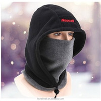 Thermal Fleece Balaclava Hat Hood Ski Bike Wind Stopper Face Mask Men Neck Warmer Winter Fleece Motorcycle Neck Helmet Cap