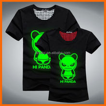 hot sale LED polyester t-shirt for dance&musice stage shows